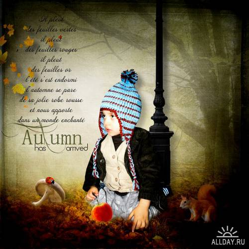Скрап-набор - Autumn feeling