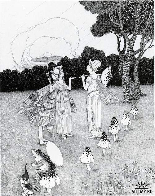 Классика детской иллюстрации - Австралийский иллюстратор Ida Rentoul Outhwaite (1888 - 1960)