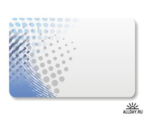 Stock illustration: card design