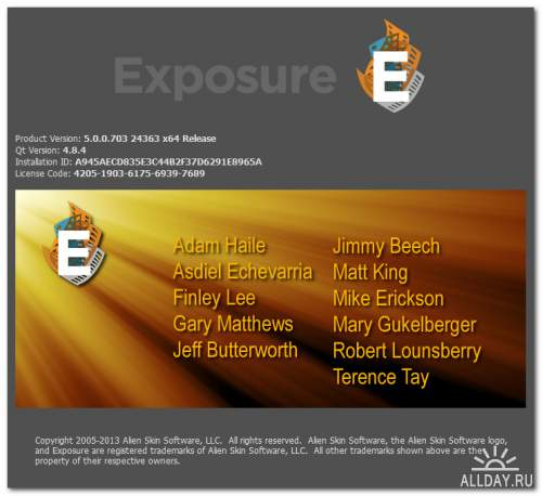 Alien Skin Exposure 5.0.0.703 Revision 24363 for Adobe Photoshop (x86/x64)