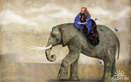 Иллюстрации Anna Kapustenko