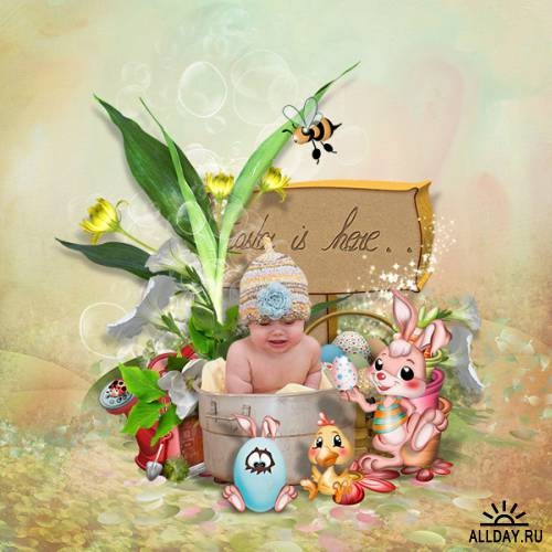 Scrap kit   Sweet Easter