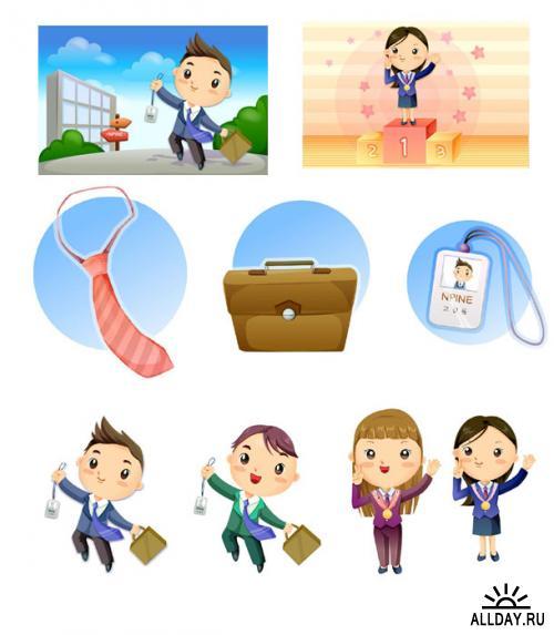 80  Илюстраций детей