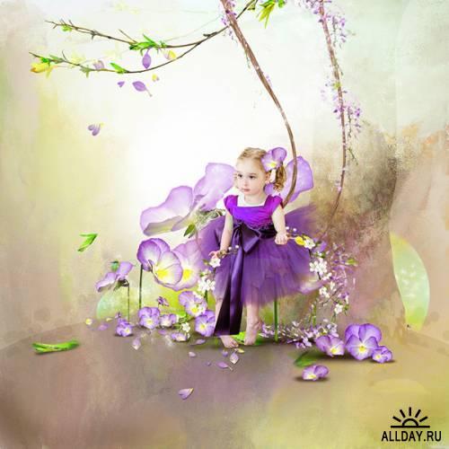 Скрап-набор Dream garden