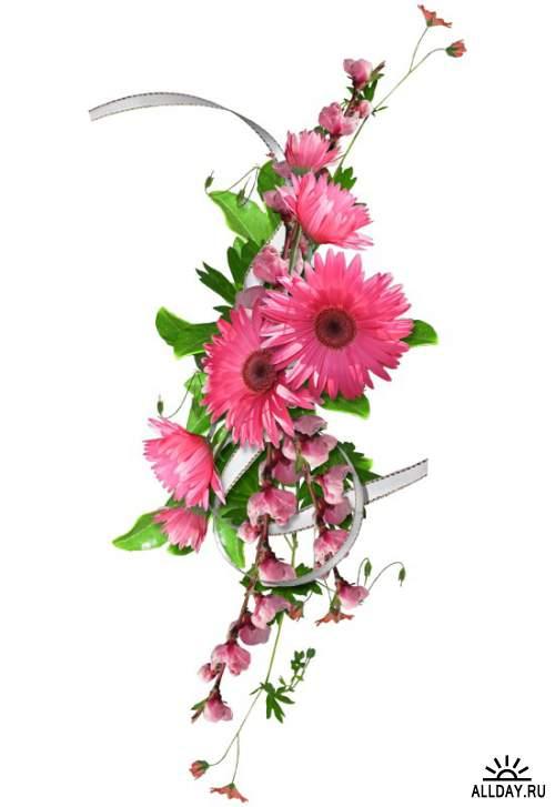 Цветочный декор.