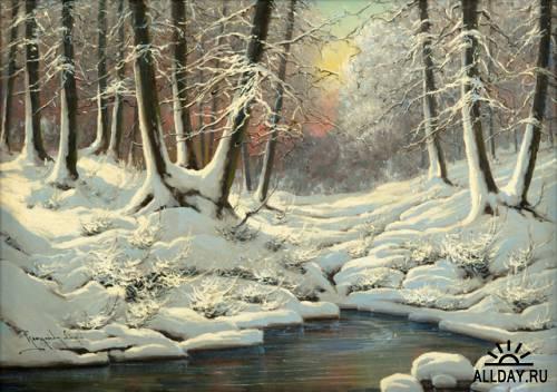 Венгерский художник  Laszlo Neogrady (1896-1962)