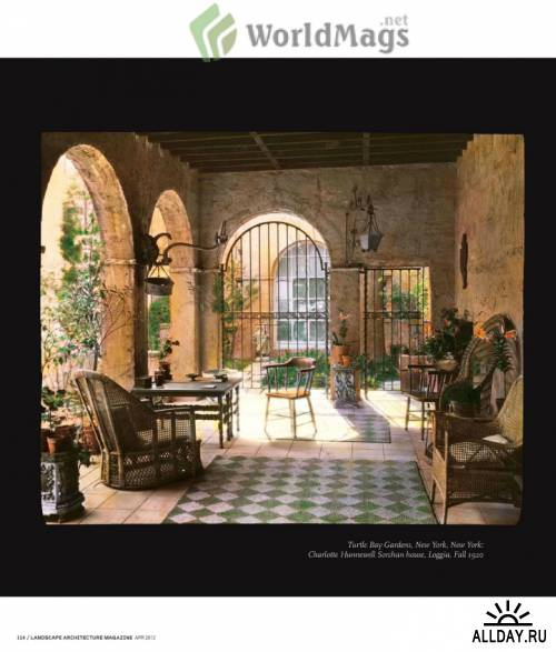 Landscape Architecture USA - April 2012
