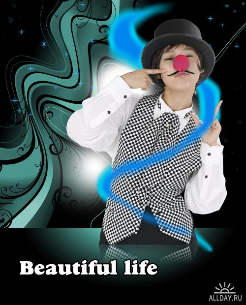 PSD templates - Beautiful life 4