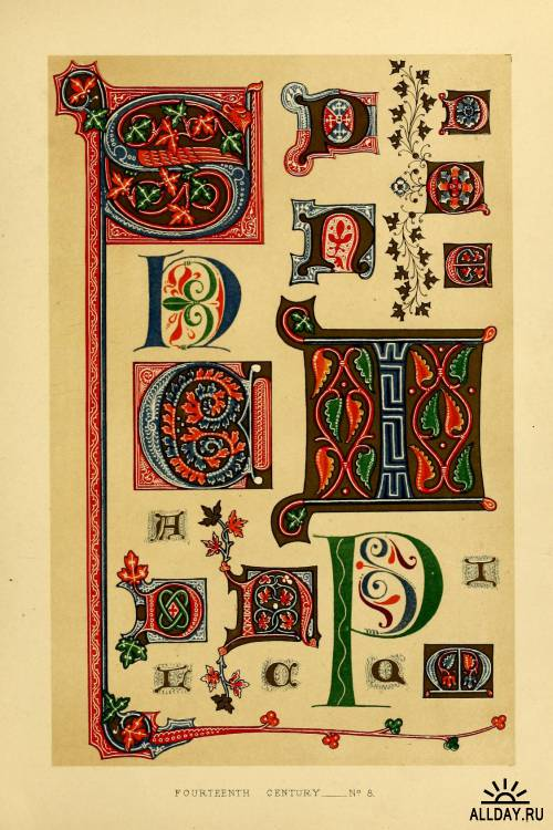 The art of illuminating as practised in Europe from the earliest times