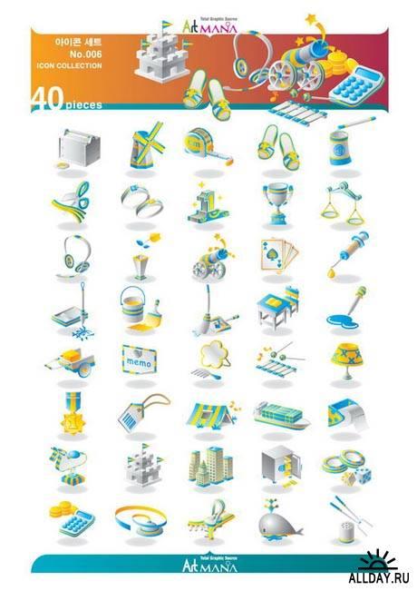 ArtMania: 15 Sets | Icon, Banners