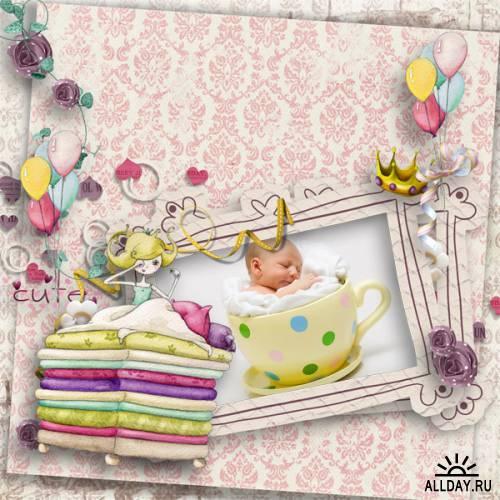 Scrap kit Cute Princess