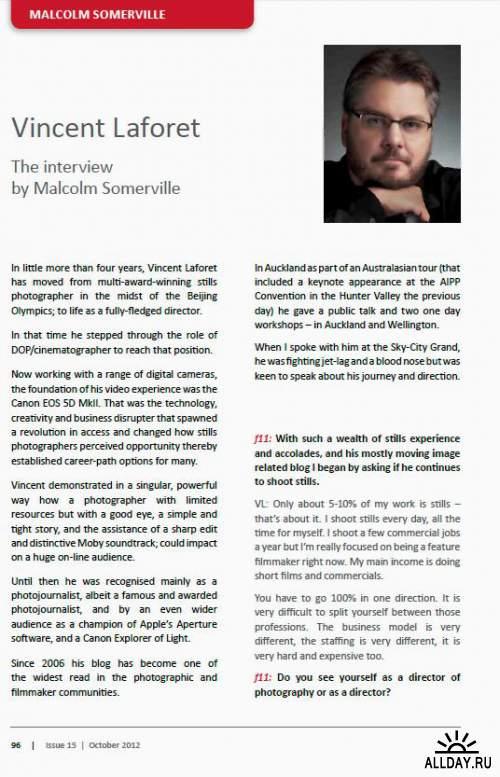 f11 Magazine Issue 15 2012