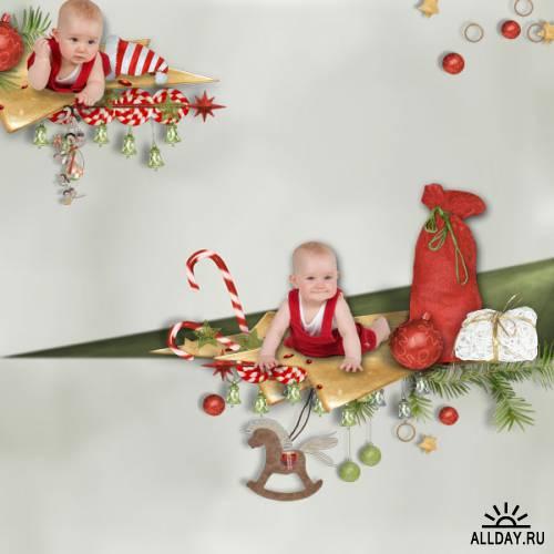 Scrap kit  Hello Christmas