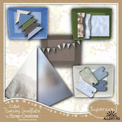 Scrap kit - Snowflakes