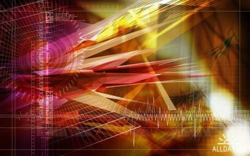 Абстрактная графика для фона на рабочем столе 12