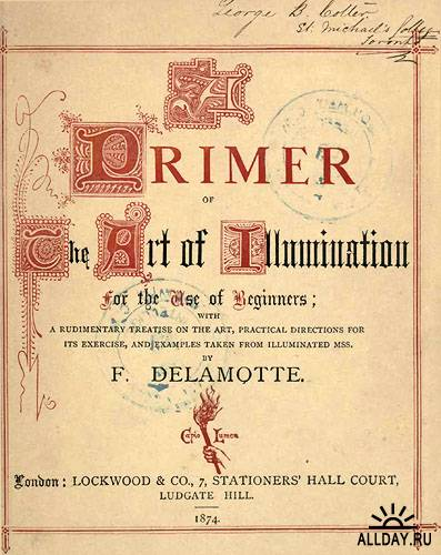 Буквицы F. Delamotte