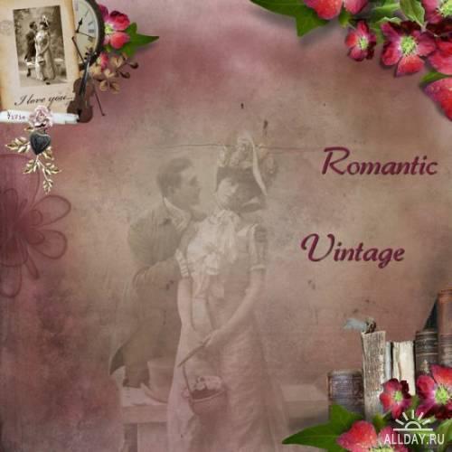 Скрап-набор Vintage Vol 2