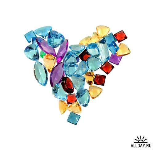 Бриллианты - Растровый клипарт | Diamands - UHQ Stock Photo