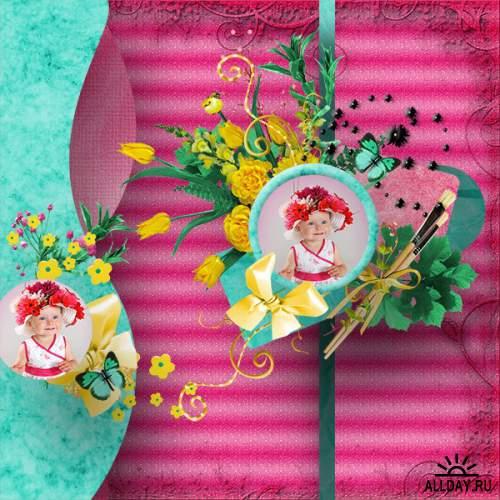 Скрап-набор Lollipops
