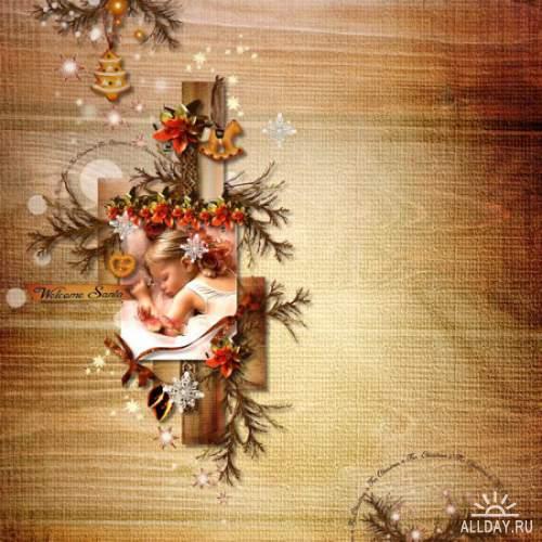 Скрап-набор Christmas is For