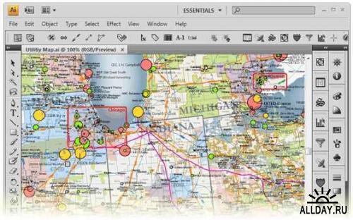 Avenza MAPublisher v8.3 for Adobe Illustrator + Manual