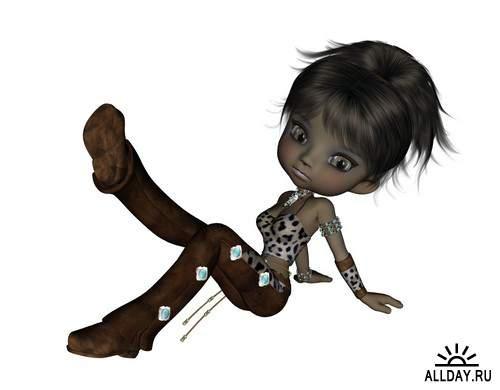 Dolls Girls in different costumes | Девочки куколки в разных костюмах