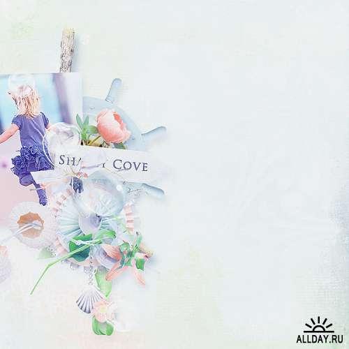 Скрап-набор Shabby Cove - Бухта Туманным Утром