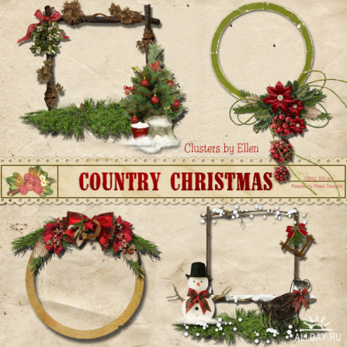 Scrap kit Country Christmas