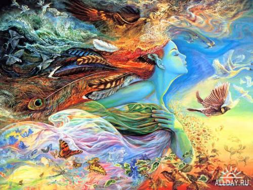 Картины Жозефины Уолл (Josephine Wall)