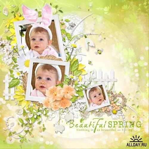 Скрап-набор Everything blooms in Spring