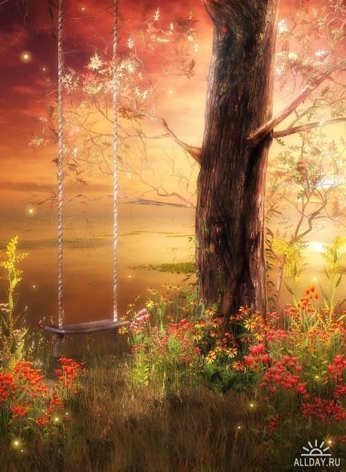 Charmed Woodlands