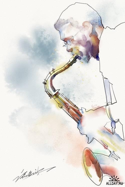 Artist Zhu Haibo
