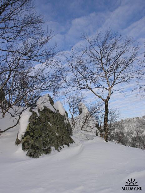 Уральские горы. Зимний Таганай – часть 2