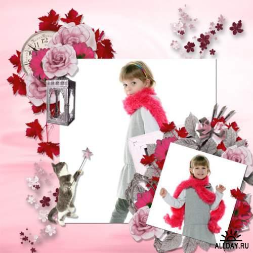 Скрап-набор Parfum de Rose