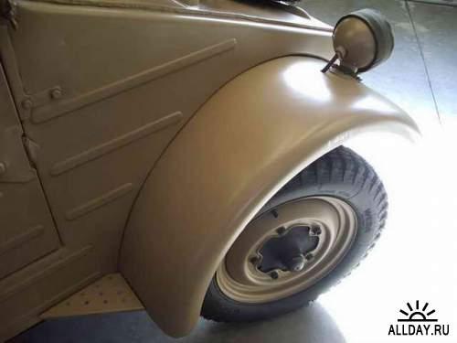 Фотообзор - немецккий автомобиль Volkswagen Kubel Type 82