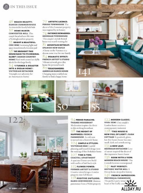 25 Beautiful Homes - June 2012