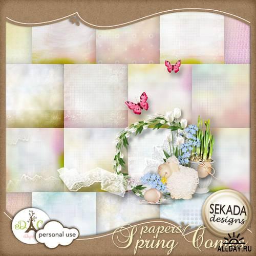 Scrap kit Spring Comes