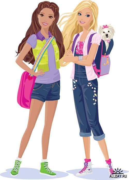 Девочки подростки - векторный сток
