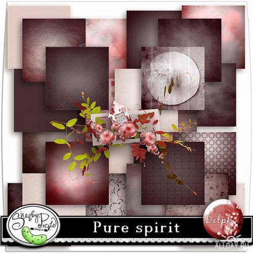 Скрап-набор Pure spirit