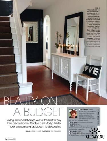25 Beautiful Homes - дизайн интерьера 2011: 1