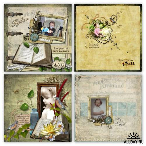 Scrap kit  Remember The Time