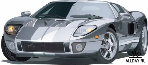 Векторный клипарт автомобили - Vector Clipart cars