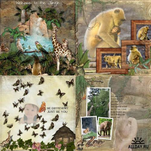 Scrap kit  Call Of The Jungle
