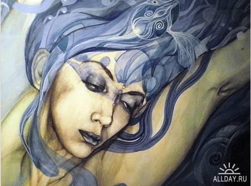 Художница  Patricia Ariel.