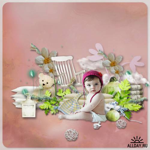 Scrap kit  My Sweet Baby