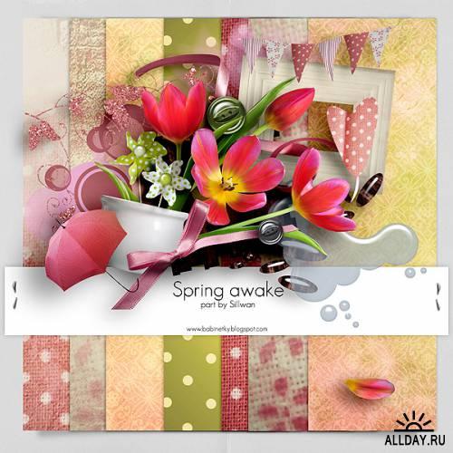Скрап-набор - Spring awake - Часть 5