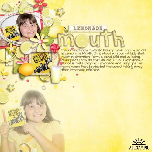 Скрап-набор Lemonade Stand