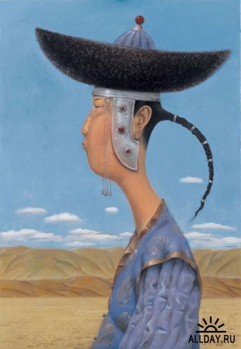 Рисунки от художника Зорикто Доржиев