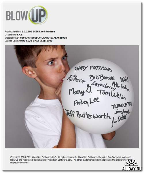 Alien Skin Blow Up 3.0.0.693 Revision 24365 for Adobe Photoshop (x86/x64)