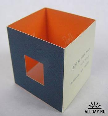 Витаминки для вдохновения: Визитные карточки